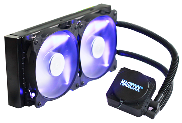 AiO Liquid cooling Kit dual 120 mm radiator
